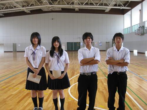 金津高等学校制服画像